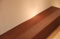 天板の配線孔