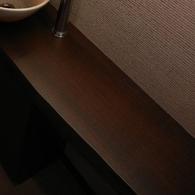 ナラ材一枚板の天板