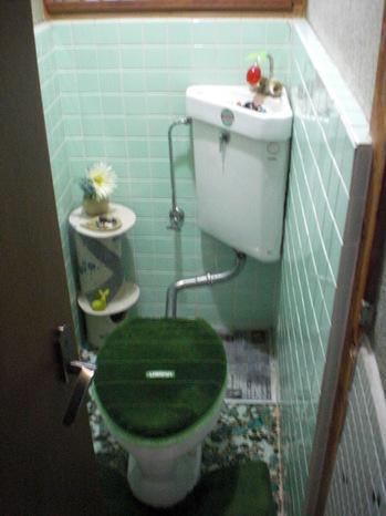 トイレ内施工前