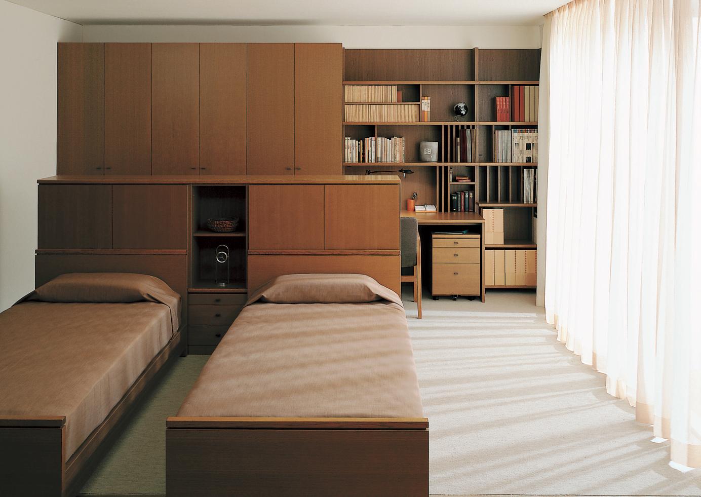寝室+クローゼット・書斎の ...